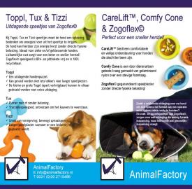 AnimalFactory, Groenekan - buitenzijde brochure