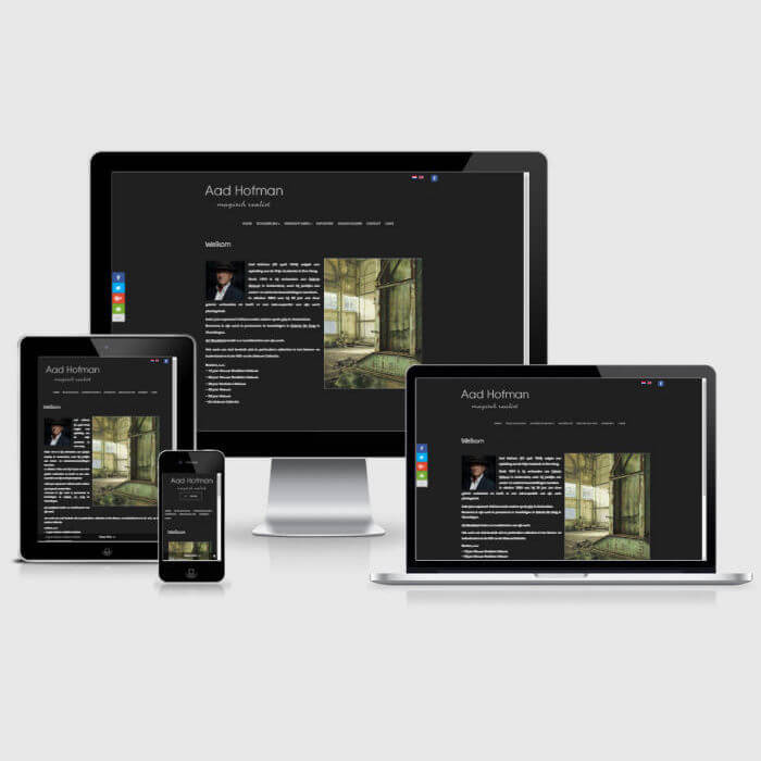 Aad Hofman - WordPress website