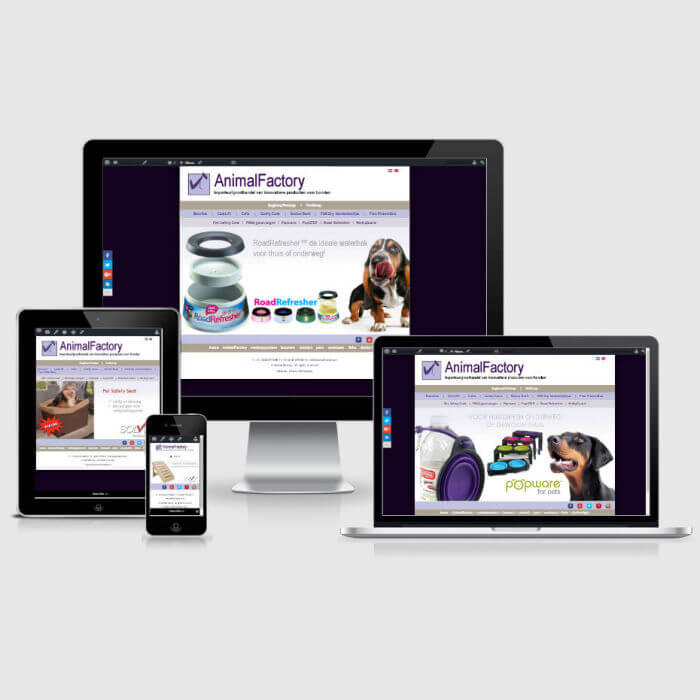AnimalFactory - WordPress website