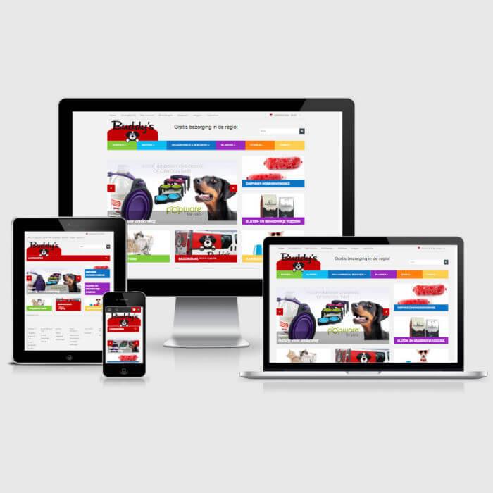 Buddy's - OpenCart webshop