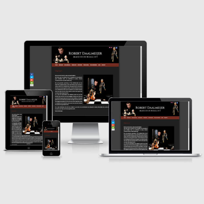Robert Daalmeijer - WordPress website