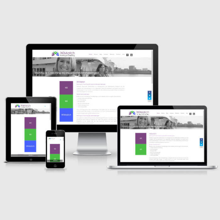 WiMatch - WordPress website